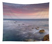 Pink Seasunset Tapestry