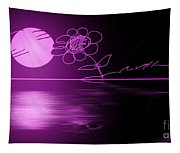 Pink Sunset Tapestry