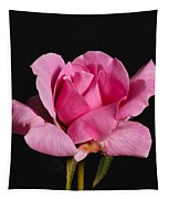 Pink Tea Rose Tapestry
