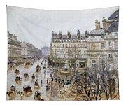 Pissarro: Theatre Francais Tapestry