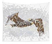 Pixel Pelicano Tapestry