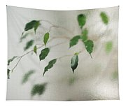 Plant Behind Glass Tapestry