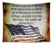 Pledge Tapestry