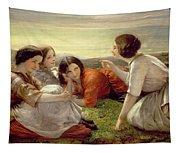 Plotting Mischief Tapestry
