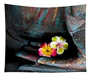 Plumeria Flowers Tapestry