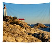 Point Atchison Lighthouse 2 Tapestry