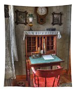 Point Loma Lighthouse Writing Desk Tapestry