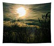 Polarized Sunset Tapestry