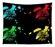 Pom Pom Pop Art Tapestry