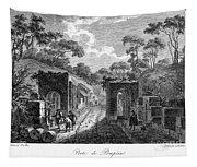 Pompeii: Herculaneum Gate Tapestry