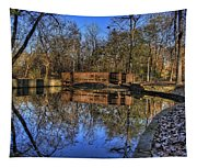 Pond Reflections Tapestry