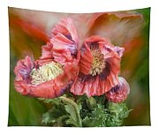 Poppies Big And Bold Tapestry