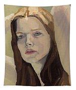 Portrait Of Ashley Tapestry