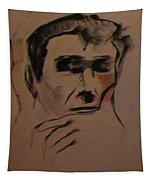 Portrait Of Frank Frazetta Tapestry