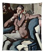 Portrait Of Willie Peploe Tapestry