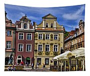 Posnan Shops - Poland Tapestry
