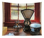 Postage Scale And Rubber Stamps Tapestry
