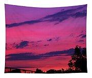 Prague Sunset Tapestry