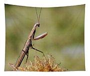 Praying Mantis Tapestry