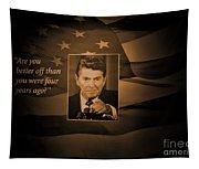 President Reagan Tapestry