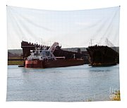 Presque Isle Ship Loading Tapestry