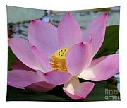 Pretty Pink Lotus Tapestry