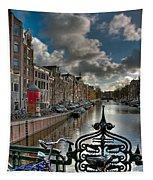 Prinsengracht And Leidsestraat. Amsterdam Tapestry