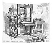 Printing Press, 1639 Tapestry