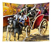 Proba Bull Cause Tapestry
