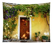 Provence Door Number 1 Tapestry