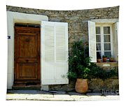 Provence Door Number 4 Tapestry