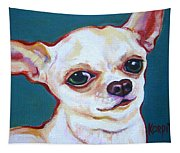 White Chihuahua - Puddy Tapestry