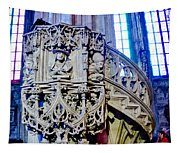 Pulpit St Stephens - Vienna Tapestry
