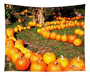 Pumpkin Patch Path Tapestry