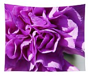 Purple Carnation Tapestry