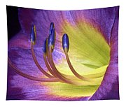 Purple Daylily Tapestry