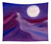 Purple Night 2 Tapestry