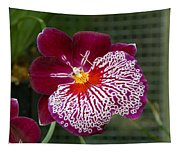 Purple Pansy Tapestry