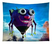 Purple People Eater Tapestry