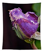 Purple Rose Tapestry