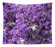 Purple Screen Square Tapestry