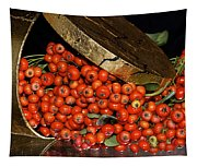 Pyracantha Berries Tapestry
