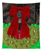 Queen Of The Huns Tapestry