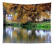 Quiet Autumn Day Tapestry