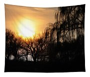 Quiet Country Sunrise Tapestry