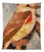 Quiet In The Corner Tapestry