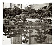Quiet Moment In Tokyo Tapestry