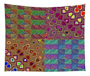 Quilted Fractals Tapestry
