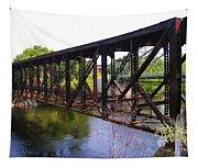 Railroad Bridge Tapestry