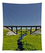 Railroad Trestle Tapestry